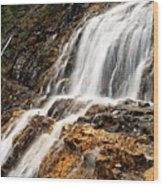 Point Lace Falls 1 Wood Print