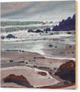 Point Lobos Wood Print