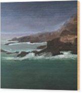 Point Lobos Monterey Wood Print