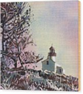Point Loma Lighthouse- San Diego Wood Print