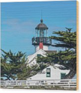 Point Pinos Lighthouse Wood Print