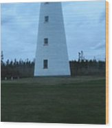Point Prim Lighthouse Wood Print