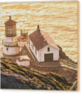 Point Reyes Lighthouse 2 Wood Print