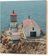 Point Reyes Lighthouse II Wood Print