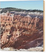 Point Supreme - Cedar Breaks Wood Print