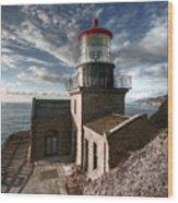 Point Sur Lighthouse - California  Wood Print