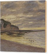 Pointe De Lailly Wood Print