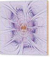 Poiple Poiple Wood Print