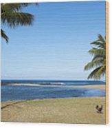Poipu Beach Wood Print by Kelley King