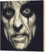 Poison Alice Cooper Wood Print