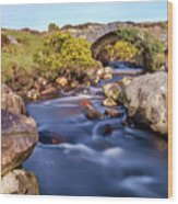 Poisoned Glen Bridge Wood Print