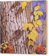 Poisonous Beauty Wood Print