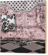 Poitrine Rose Wood Print