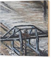 Pojizdnej Jerab Wood Print