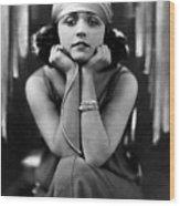 Pola Negri, Ca. Early 1920s Wood Print