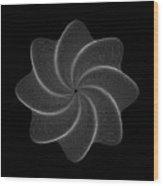 Polar Flower Viiik Wood Print