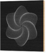 Polar Flower Vik Wood Print