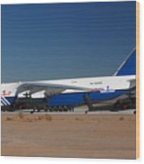 Polet Antonov An-124 Ra-82080 Phoenix-mesa Gateway Airport January 14 Wood Print