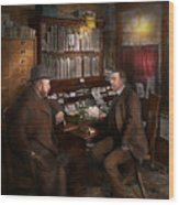 Police - The Private Eye - 1902  Wood Print