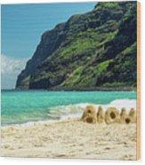 Polihale Aloha Wood Print