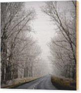 Polish Countryside Wood Print