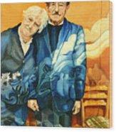 Polish Immigrants Wood Print