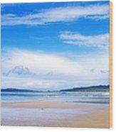Pollan Strand, Inishowen, County Wood Print