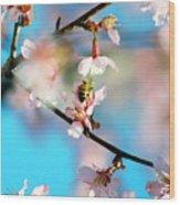 Pollination 1.02 Wood Print