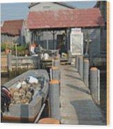 Pollys Dock 7 Wood Print
