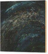 Pollution Galaxy Wood Print