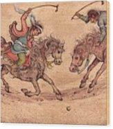 Polo Wood Print