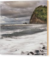 Pololu Whitewash Wood Print