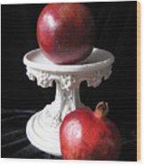 Pomegranate Deux Wood Print