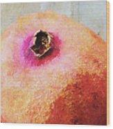 Pomegranate II Wood Print