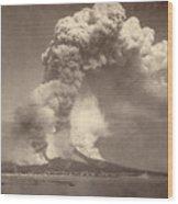 Pompeii: Mount Vesuvius Wood Print