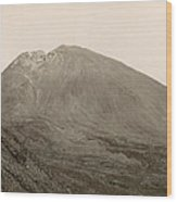 Pompeii: Mt. Vesuvius, C1890 Wood Print