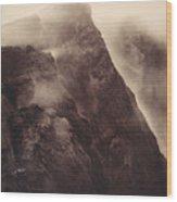 Pompeii, Mt Vesuvius Wood Print