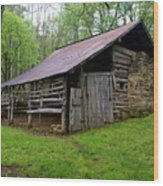 Ponca Barn Wood Print