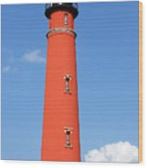 Ponce Inlet Lighthouse Wood Print
