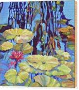 Pond 2 Pond Series Wood Print
