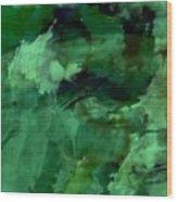Pond Life Abstract Wood Print