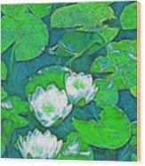 Pond Lily 2 Wood Print
