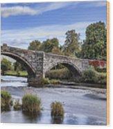 Pont Fawr Wood Print