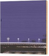 Pont Jacques Chaban-delmas Abstraction Wood Print