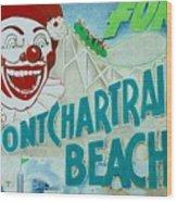 Pontchartrain Beach Wood Print