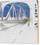 Ponte Acid. Wood Print