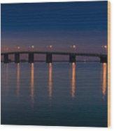 Ponte Wood Print