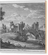 Ponte Mammolo Wood Print