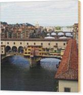 Ponte Vechio Florence Wood Print