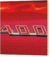 Pontiac Firebird 296 Wood Print